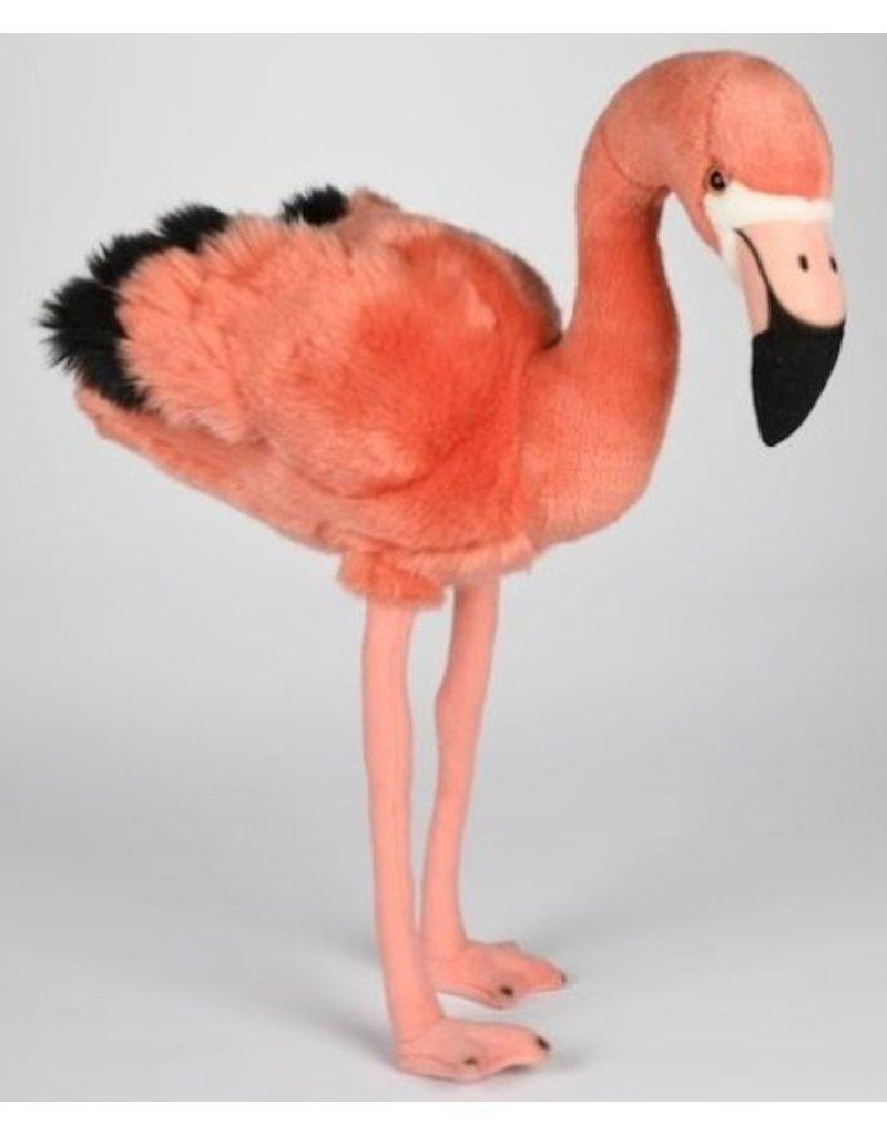 Pluche Flamingo Staand 45cm.