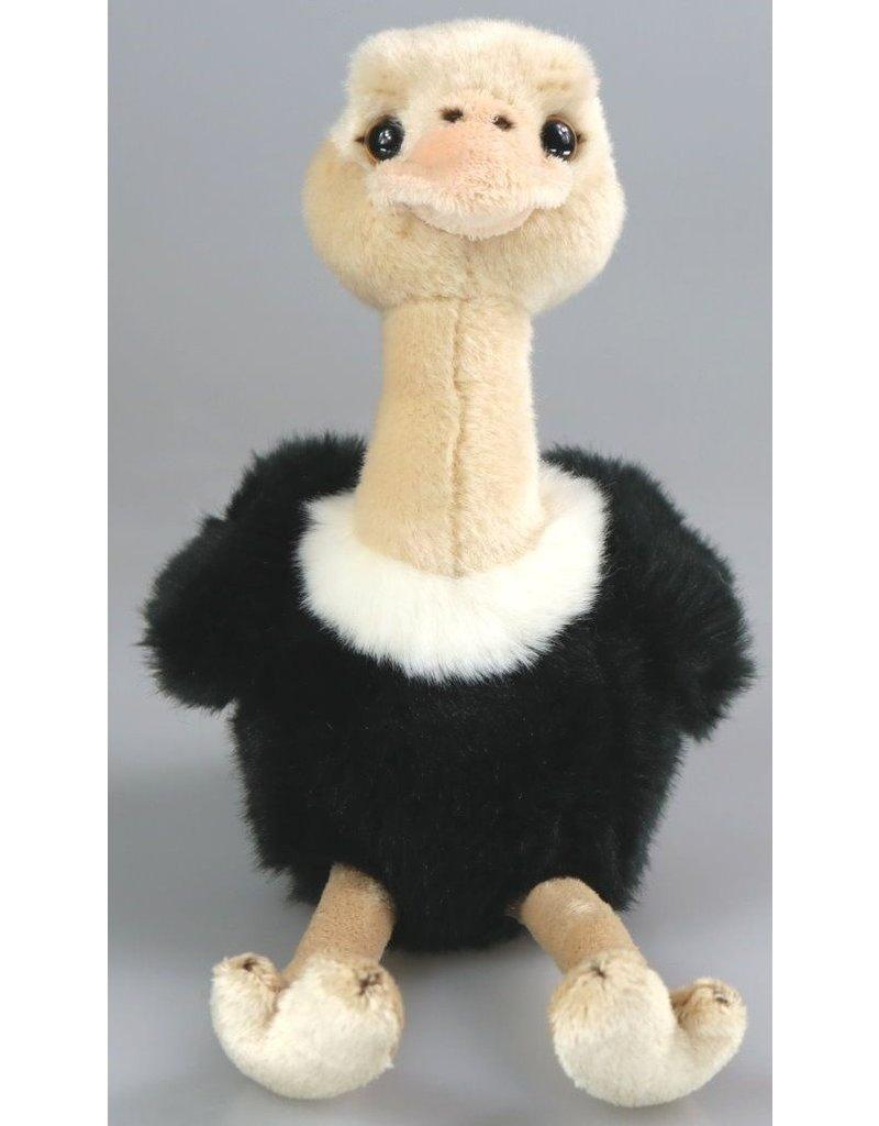Pluche Struisvogel 18cm.