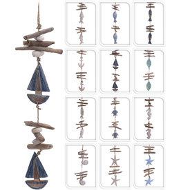 Deco Hanger Drijfhout 50cm. 12 assorti model