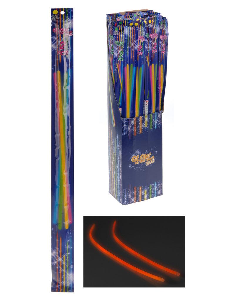 Glow in the Dark Mega Sticks 55cm. set van 2 stuks