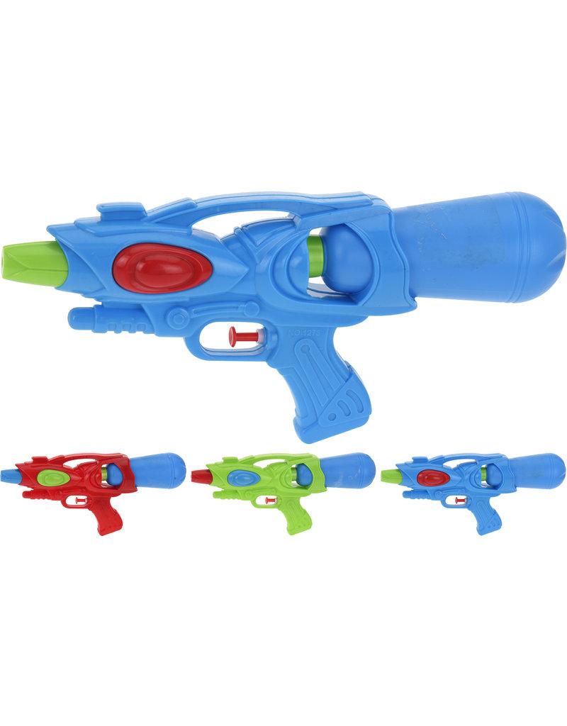 Waterpistool 30cm. 3 assorti kleur