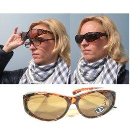 Overzetbril Polarized / Zonnebril voor brildragende