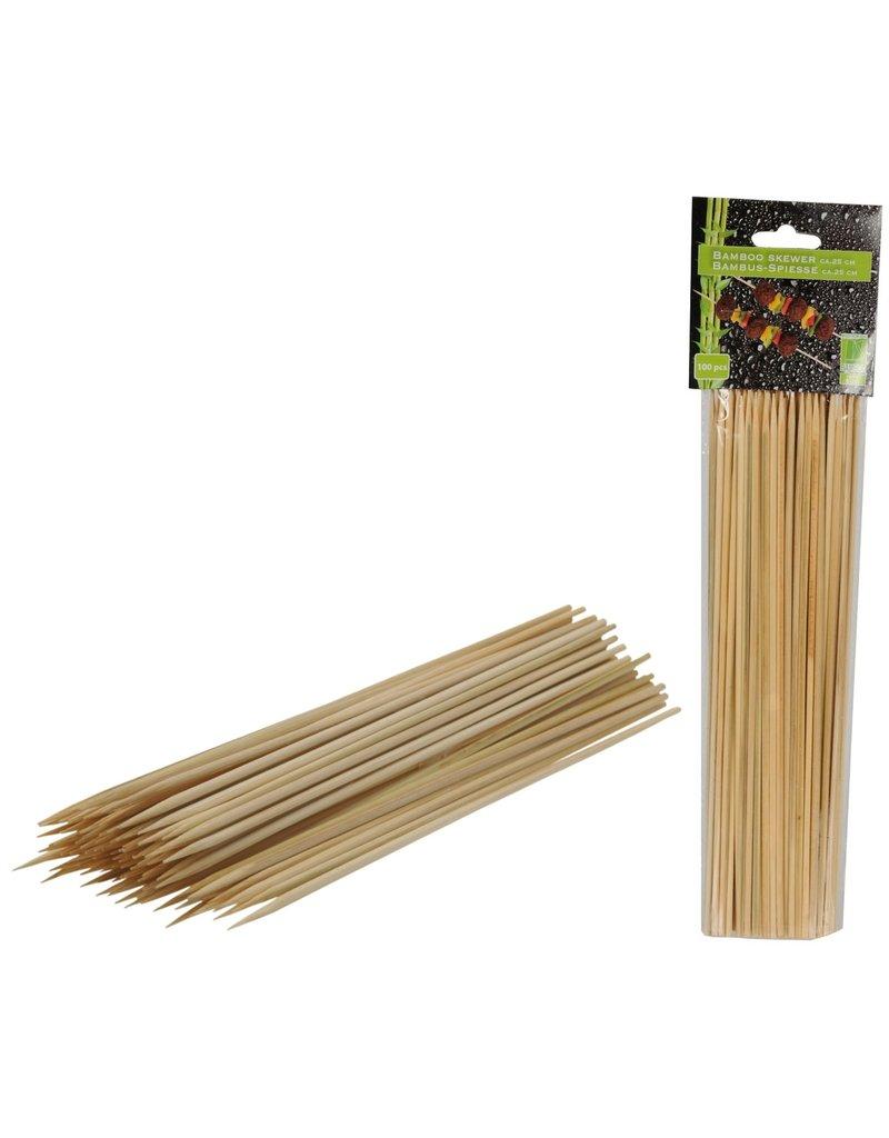 Spiesjes Bamboe 25cm. 100st. voor bbq