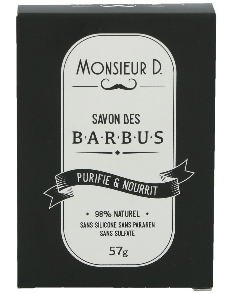 Monsieur D Baard Zeep Nourishing&Purifying 57gram