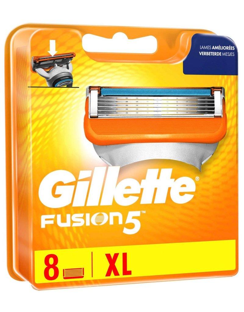 Gillette Fusion 5 Scheermesjes 8 st.