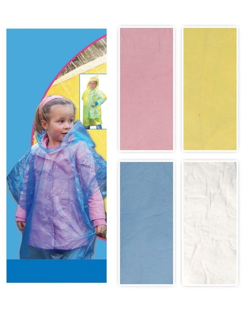 Poncho voor Kinderen 4 assorti kleur