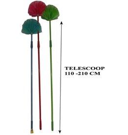 Ragebol met Telescoop Steel 95/175 cm. 2 assorti kleur