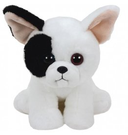 TY Pluche Hond Bulldog Marcel met glitter ogen 15cm.