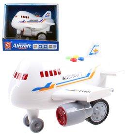 Aricraft Vliegtuig 14cm. met licht&geluid