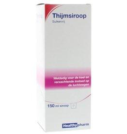 Healthy Thijmsiroop Suikervrij 150 ml.