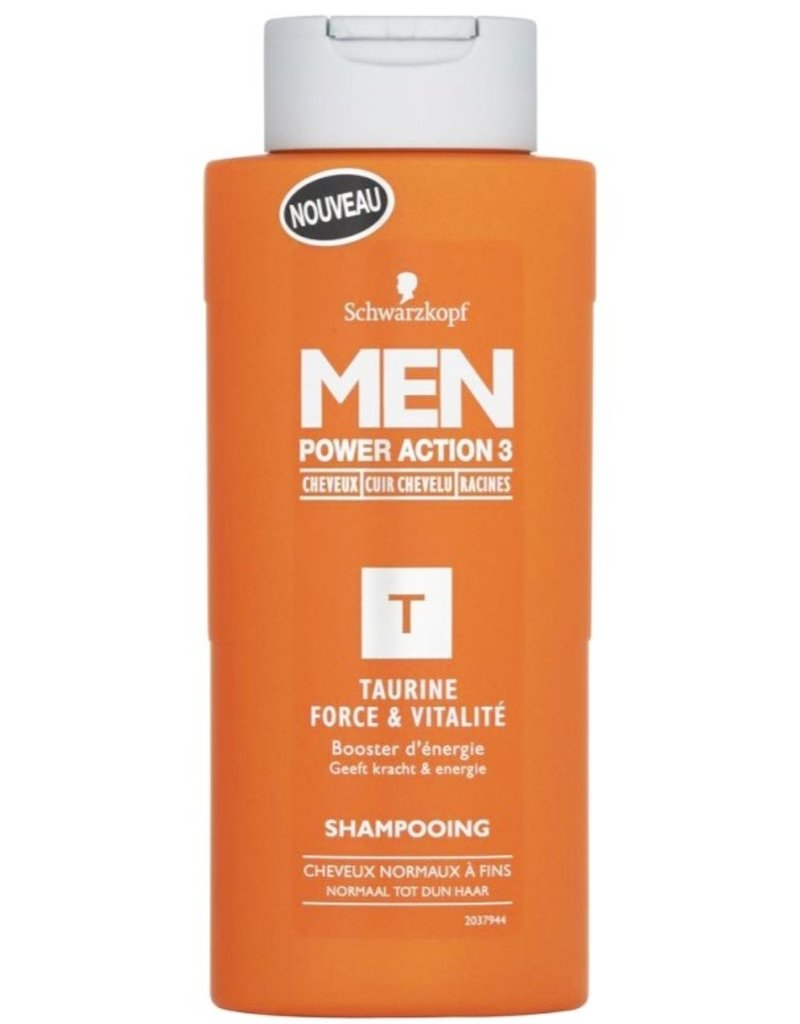 Schwarzkopf Shampoo Men Power Action 3 Taurine 250ml