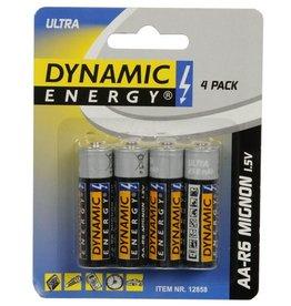 Dynamic Energy Batterij 4xAA