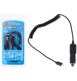 Auto Oplader Type C-USB
