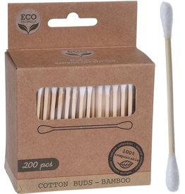 Luxe Oorstokjes Bamboe 200 stuks