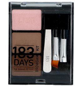 183days Make-Up Poederset 6 delig 010 Ash