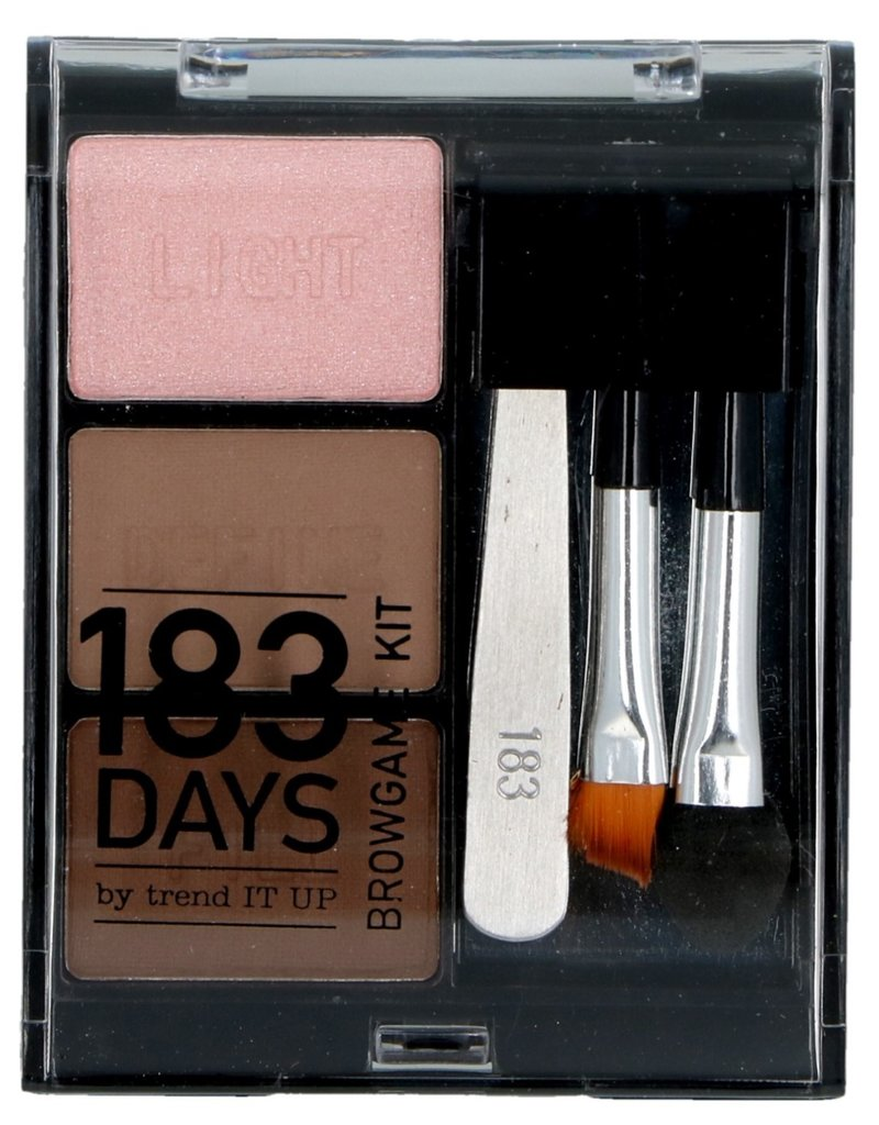 183days Make-Up Poederset 6 delig 010 Ash