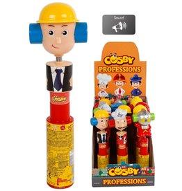 Cosby Professions met snoep, verrassing en geluid 25cm.