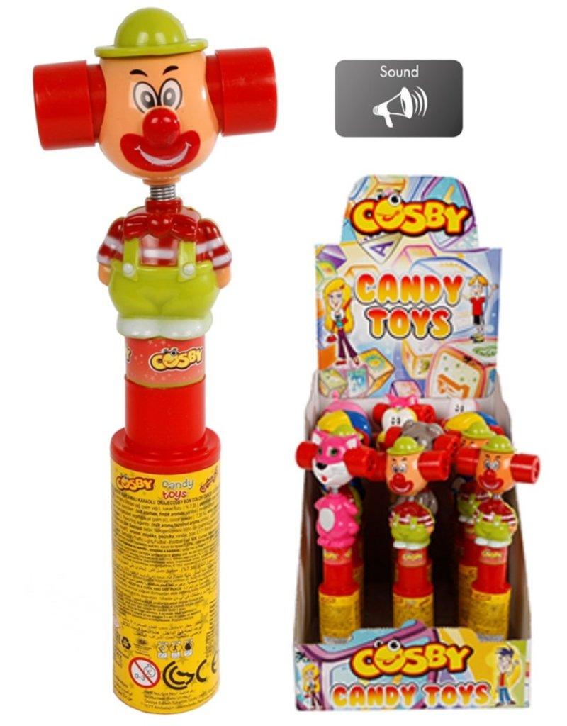Cosby Shake It met snoep, verrassing en licht 25cm.