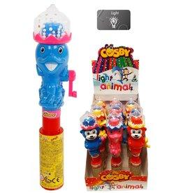Cosby Light Animals met snoep, verrassing en licht 25cm.