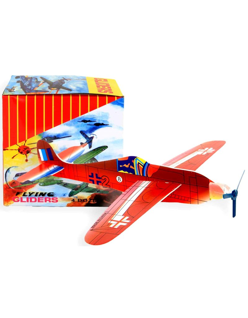 Flying Glider 18cm. assorti model