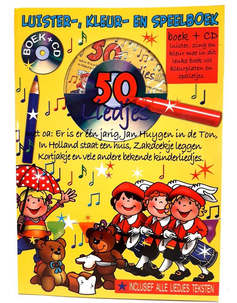 Liedjesboek + CD 32 pagina 29x21cm.