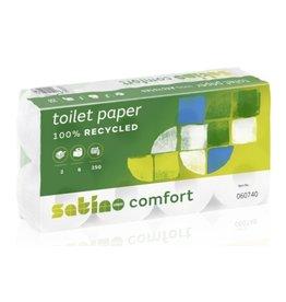 Satino Toiletpapier 8 rol x 250 vel 2 laags