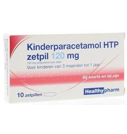 Healthy Paracetamol Zetpil Kind 120mg 10st.