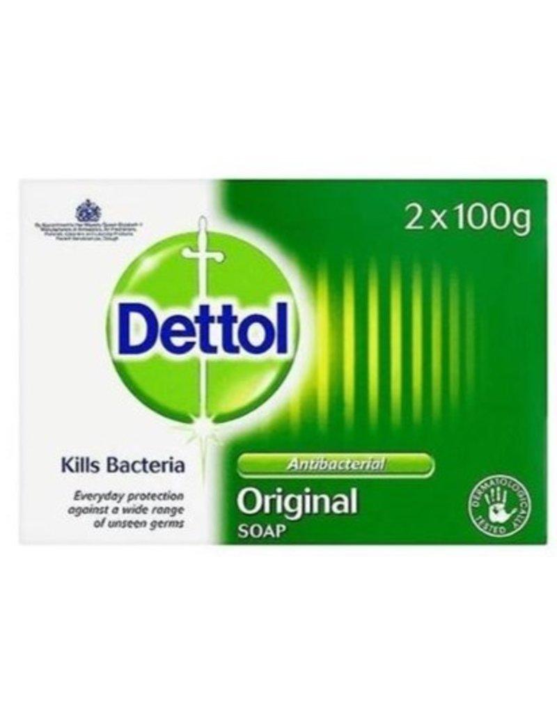 Dettol Anti-bacteriele Zeep Original  2 x100 gr.