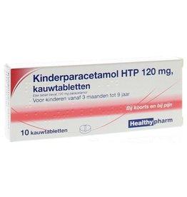 Healthy Paracetamol Kind Kauwtabletten 120mg 10st.