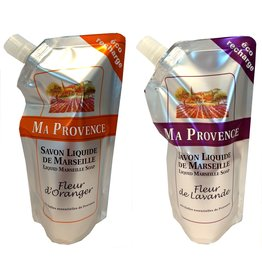 Ma Provence Refill Zeeppomp 250ml Orange of Lavendel