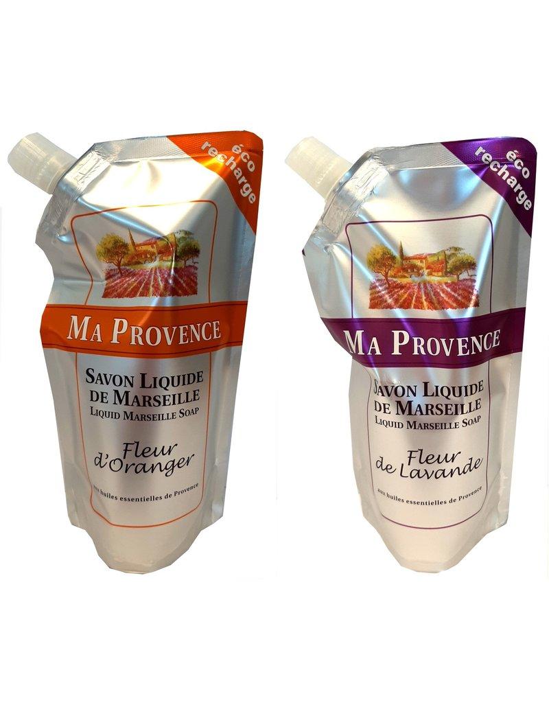 Ma Provence Refill Zeeppomp 250ml Orange of Lavendel