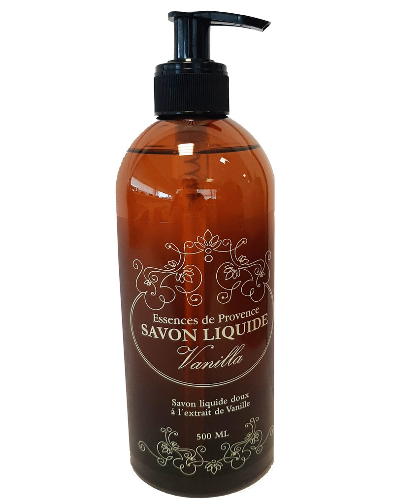 Essences de Provence Vanilla Zeeppomp 500ml.