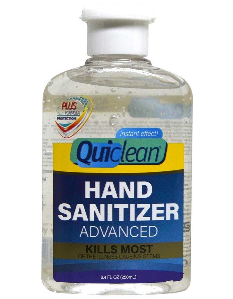Quiclean Hand Sanitizer Antibacterial Gel Alcohol 70% 250ml.