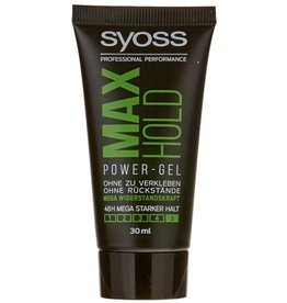 Syoss Power Hair Gel Max Hold 5 Mini 30ml.