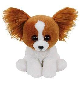 TY Pluche Hond Barks met glitter ogen 15cm.