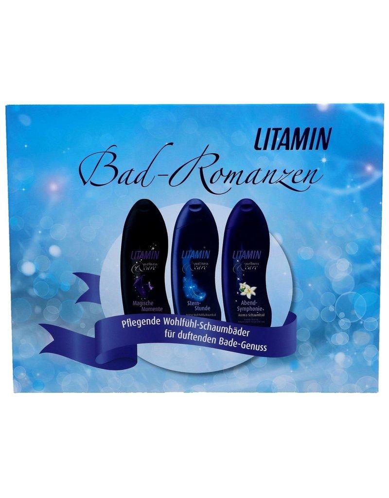 Litamin Giftset Bad Romance 3x Showergel 250ml.