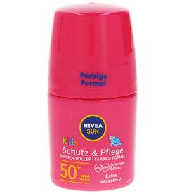 Nivea Sun Roll-On Protect & Care Kids F50 50ml. (Dui. tekst)