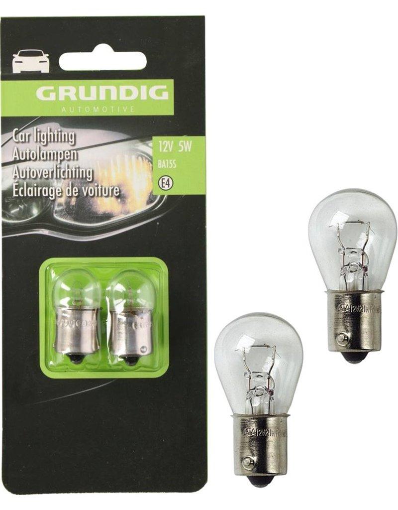 Grundig Autolamp 5W 12V 2 stuks