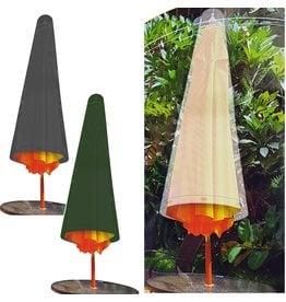 Parasolhoes 120cm. 2 assorti kleur