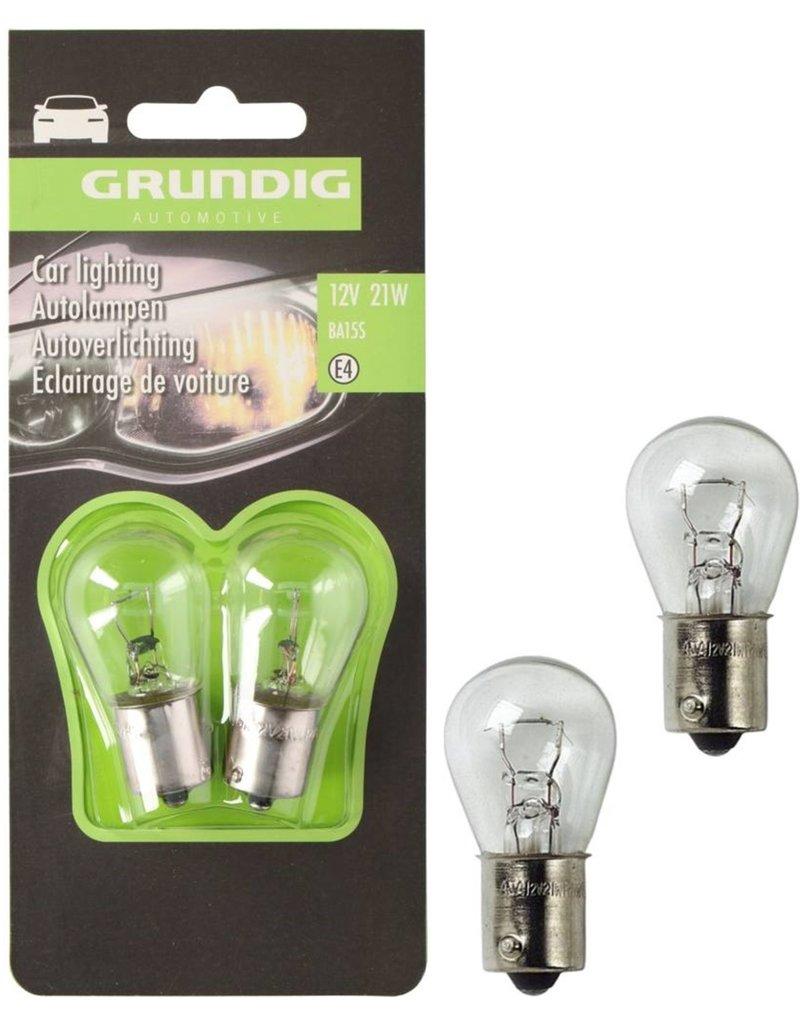 Grundig Autolamp 21W 12V 2 stuks