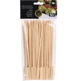 Satestokjes Bamboe 20cm. 50 stuks