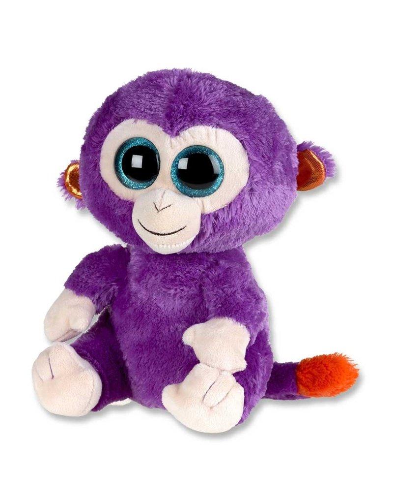 TY Pluche Aap Grapes Violet met glitter ogen 15cm.