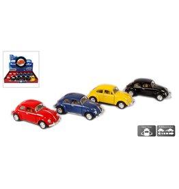DieCast VW Classical Beetle 1:32 assorti kleur