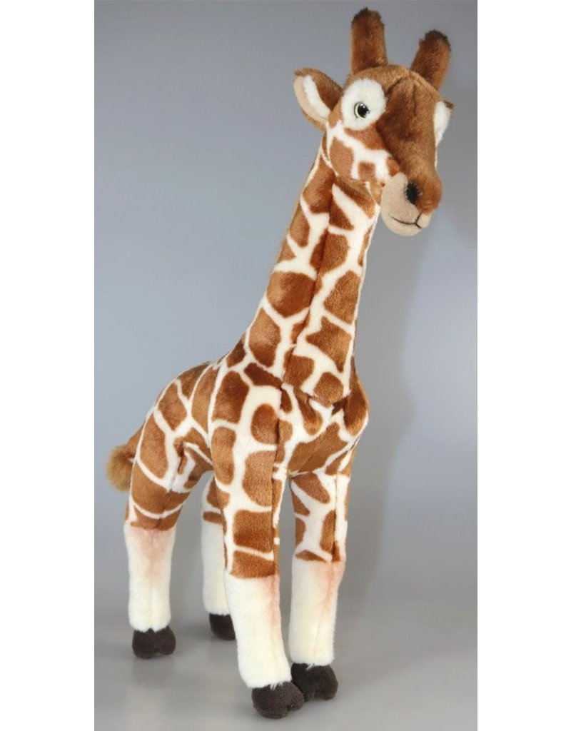 Pluche Giraffe Staand 43cm.