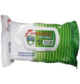 Detox Antibacterial Wet Wipes Fresh 80 stuks