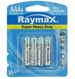 Raymax Batterij 4xAAA Mini Penlite Zink