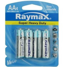 Raymax Batterij 4xAA Penlite Zink