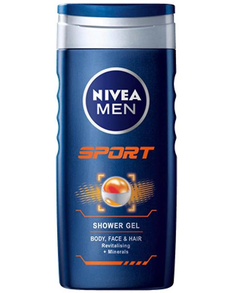 Nivea Douche Sport 3in1 For Men 250ml