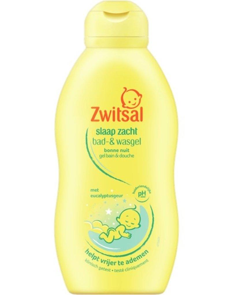 Zwitsal Baby Slaap Zacht Bad- & Wasgel Eucalyptus 200ml