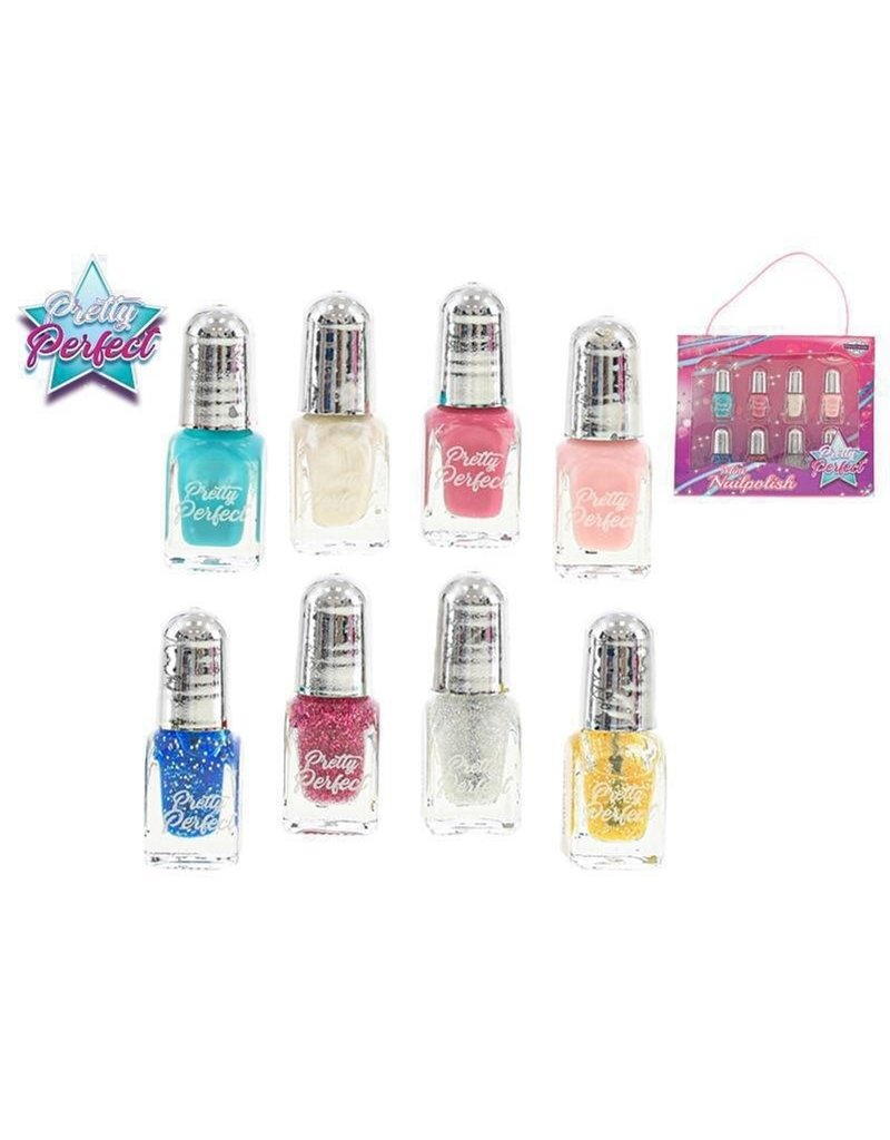 Neon Color Nail Polish Set 7dlg in wbox 17x12cm.
